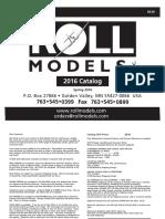 Rolls Models