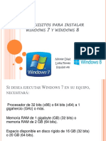 Requisitos de para instalar windows