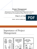 Class Material_Project Management_Class 1, 2, 3, And 4