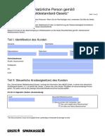 GMSG Selbstauskunft Deutsch