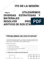 PROBLEMA DE DOS ETAPAS 2DA PARTE