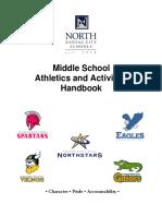 Middle School Activities Handbook