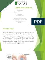 Hydropneumothorax Presentasi Referat IPD