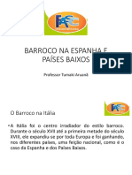 O BARROCO NA ESPANHA E PAÍSES BAIXOS