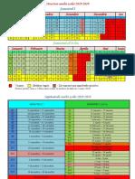 Calendar Scolar 2019-2020