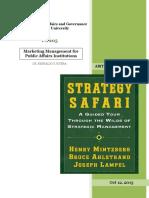 Book Review Henry Mintzbergs Strategy Safari