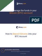 Binary.com Bitcoin
