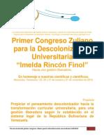 CongresoDescolonización 2019 Tercera Invitación Melón 15052019