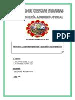 Monografia Electrogravimetria y Coulombimetria