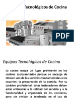 Equipos Tecnológicos de Cocina