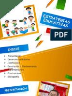 ESTRATEGIAS EDUCATIVAS