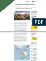 Nexojornal Com Br Expresso 2019-09-06 a Diferenca Da Independencia No Brasil e Na America Espanhola