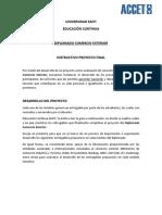 Guía Trabajo Final - Comercio Exterior