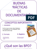 Buenas Prácticas de Documentación