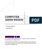 INTRODUCTION TO COMPUTER AIDED DESIGN rahul.docx