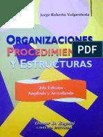 Organizaciones, Procedimientos y estructuras