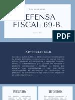 DEFENSA FISCAL 69-B
