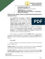 Apersonameinto Exp 392 Caja Arequipa Pucallpa
