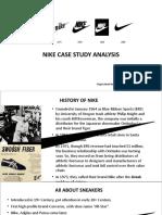 Nike Case Study Ppt