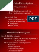 Geotech Inv