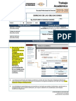 Fta-2019-2b-m1 Derecho de Las Obligaciones