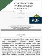 Anticoagulant and Interventional Pain Management Copy