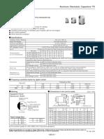 Aluminium electrlyte capcitirs