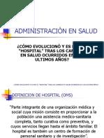 Administracion en Salud Exposicion
