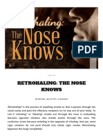 Retrohaling_ the Nose Knows