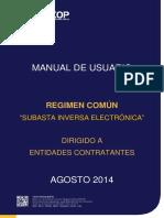 Manual de Subasta Inversa Electronica
