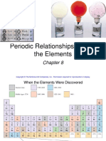 Chapter 8 Periodic Relationships