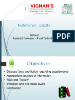 U2 Nutritional Toxicology