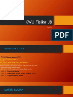 KWU Fisika UB - Reguler