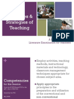 Strategies a d Princioles of teaching