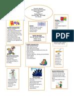 curriculum newsletter december