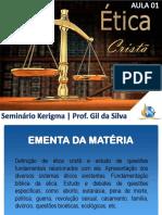 Aula 1 Ética Cristã Kerigma