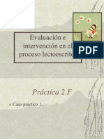 10 Evaluacion e Intervencion en El Proceso Lectoescritor