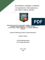 Tesis de estudio de impacto ambiental