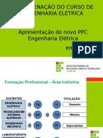 Apresentação Novo PPC Engenharia Elétrica 2019-1