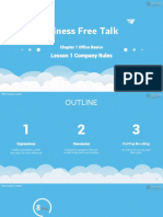 Business Free Talk Lesson 1