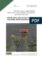 diversidad flora y fauna de caray