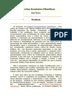 MARX. K Manuscritos Econômico Filosofico de 1844.docx