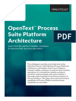 Opentext Whitepaper Opentext Process Suite Platform Architecture En