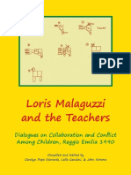 Carolyn Edwards, Lella Gandini, John Nimmo - Loris Malaguzzi and the Teachers_ Dialogues on Collaboration and Conflict Among Children, Reggio Emilia 1990-Zea Books (2015)