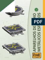 aparelhos de apoio metálicos esféricos - rudloff