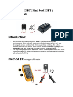 How to Test IGBT( Find bad IGBT ).pdf