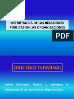 Importancia Relaciones Publicas Organizaciones