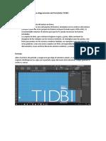 Manual de InDesign Para Diagramación Del Portafolio T1DB1