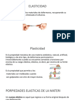 elasticidad y plasticidad