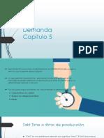 CAPITULO 5 DEMANDA